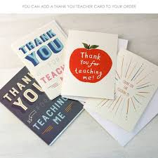 personalised thank you letter notebook by made by ellis