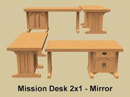 mod the sims three mission desks and a chair