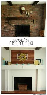 fireplace redo before u0026 after made to be a momma