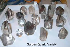 polished garden quartz crystal bring the energy of nature into