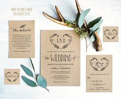 Wedding Invite Template The 25 Best Printable Wedding Invitations Ideas On Pinterest
