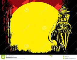 halloween background witch halloween flyer with witch stock images image 34033144