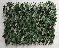 best artificial english ivy expandable trellis wall hedging garden