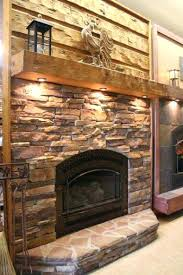 fireplace mantel shelves ideas stacked hearth designs lights