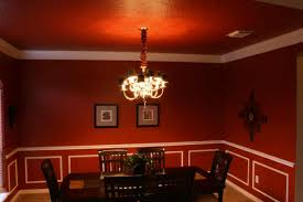 Dark Red Dining Room by Life And Jewelry August 2009