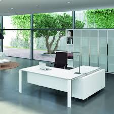 modele bureau design bureau avec retour 180cm 200cm en aluminium eight lemondedubureau