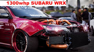 subaru rsti widebody 1300 hp subaru wrx sti widebody youtube