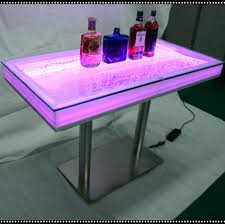 Acrylic Bar Table Modern Water Led Bar Table Acrylic Bar Furniture Used Light