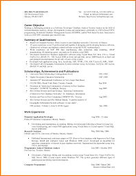 6 objective summary example assistant cover letter