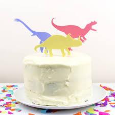 dinosaur cake dinosaur cake toppers by filshie notonthehighstreet