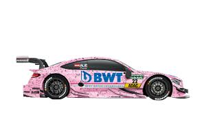 pink mercedes pink panther u2013 the mercedes amg c 63s in the sponsor u0027s pink color
