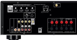 yamaha amplifier home theater yamaha rx v481 av receiver w wharfedale dx 1se speaker package