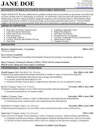 best accountant resume sample best resumes examples marketing