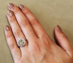 3 carat ring vintage engagement ring guide popsugar australia
