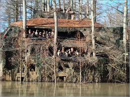 Natural Hunting Blinds Lloyd U0027s Blog 3 Story Duck Blind Near Forrest City Arkansas