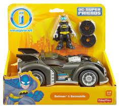 imaginext batmobile with lights amazon imaginext dc super friends batman batmobile 14 99