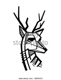 horns black white stock photos u0026 images alamy