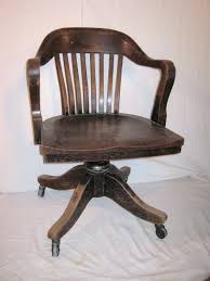 oak bankers chair awesomely vintage 225 00 via etsy for