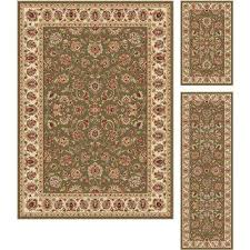 green rug sets area rugs rugs the home depot