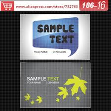 Free Business Cards Templates Online Online Buy Wholesale Free Business Card Templates From China Free