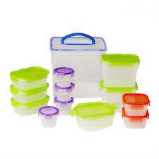 snapware airtight food storage 26p set shop world kitchen airtight food storage 26 pc container set loading zoom