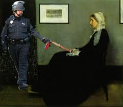 Pepper Spray Cop Meme - the pepper spray cop meme silly offensive or important