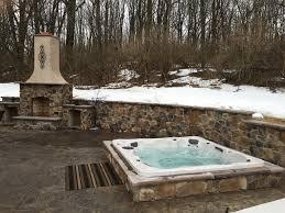 custom tub project with a series 600 honey spas tub call