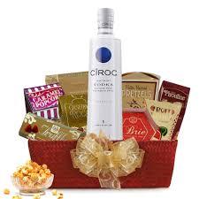 vodka gift baskets buy ciroc vodka gift basket online free shipping