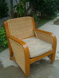 hw826s woven rattan wicker solid wood furniture armchair honor