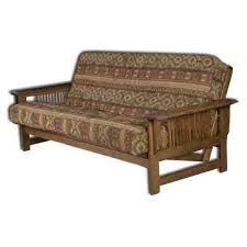 amish upholstered futons