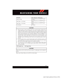 Dodge Journey E85 Gas - dodge journey 2015 1 g user guide