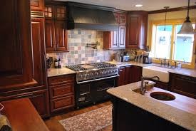 Rustic Cherry Kitchen Cabinets Furniture Entrancing Rustic Knotty Alder Kitchen Cabinets Ideas