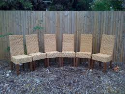wicker dining room chair woven dining room chairs remarkable to attraction outstanding