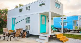seas the day with a stay in the sand dollar tiny house sia magazine
