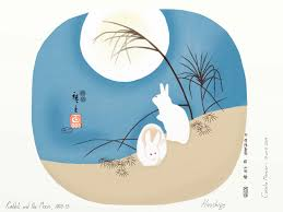 sketches easter special hiroshige u0027s u201crabbits and the moon u201d 1849