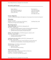 Part Resume Template Part Resume Template Apa Exle