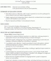 Library Resume Sample by Peaceful Inspiration Ideas Academic Resume Examples 6 Functional