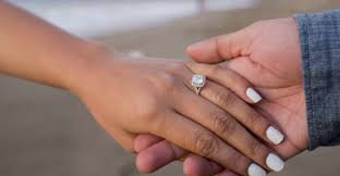 Used Wedding Rings by Why Diamond Rings Are Used For Engagement Dmia