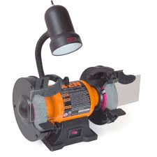 wen 6 inch bench grinder with work light walmart com