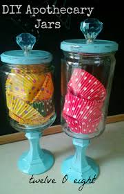 diy apothecary jars twelveoeight