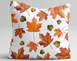 Thanksgiving Pillow Covers Fall Throw Pillows Etsy