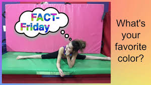 fact friday favorite color coral girls gymscool youtube