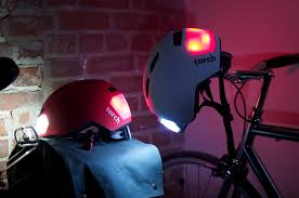 light cycling jacket light up torch helmets set for february launch video cycling