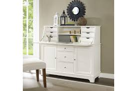 Secretary Desk With Drawers by Sullivan Secretary Desk In White Finish By Crosley Ship
