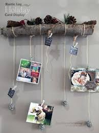 10 unique ways display your christmas cards