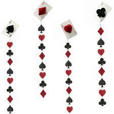 casino string decoration las vegas themed card