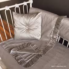 Silk Crib Bedding Set Covington Crib Rail Cover Bedding Set