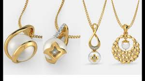 gold pendant necklace set images Pearl pendant for gold chain pearl gold pendant set designs jpg