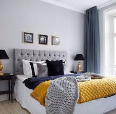 Contemporary Blue Bedroom - grey and blue bedroom ideas elegant wooden bed design withartistic