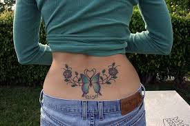flower abstract ideas for lower back design idea for